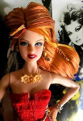 Cyndi Lauper Doll MATTEL 2009 Barbie Ladies of the 80's Pink Label NRFB retired