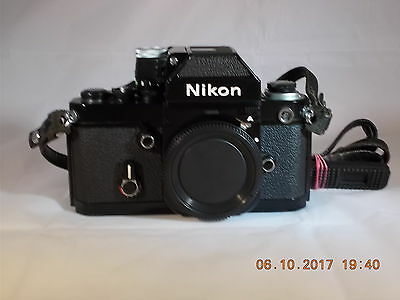 Nikon F2A Black Body with DP-11 View Finder Recent Calibration
