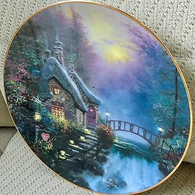 THOMAS KINCADE Collector PLATE of Julianne's Cottage by Knowles