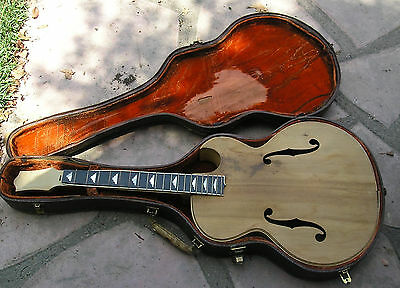 1937 Epiphone Triump Master Built Archtop Guitar And Case