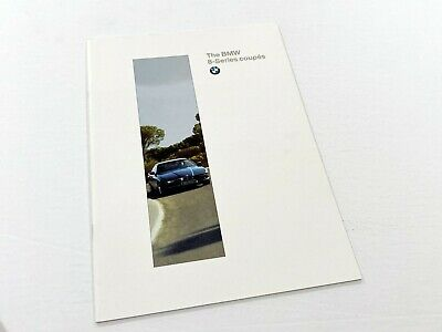 1996 BMW 8-Series Coupes 840Ci 850Ci E36 Brochure