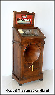 Regina Hexaphone Coin-Op Phonograph Jukebox
