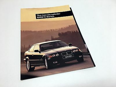 1996 BMW 3-Series 328i 328is Coupe Sedan Convertible E36 Preview Brochure