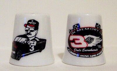 Dale Earnhardt 'In Memory Of'' 2-pc. Thimble Set