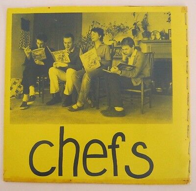 """THE CHEFS Sweetie EP 7"""" WHITE LABEL TEST PRESSING V. RARE Punk New Wave Attrix"""