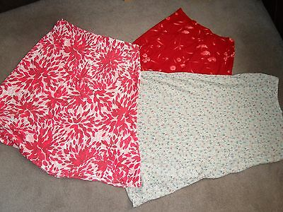 Women's Summer Skirts Bundle Size 16 3 Items M & S Evans