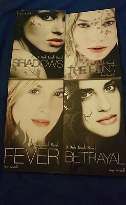 The Dark Touch book series 1-4 by Amy Meredith - shadows, the hunt, fever,...