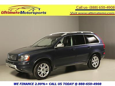 2013 Volvo XC90 2013 SUNROOF LEATHER HEATSEAT 7PASS 2013 VOLVO XC90 SUNROOF LEATHER HEATSEAT PWR SEAT 7PASS BLUE