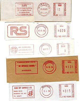 A fascinating Inverness Collection franked date and advertising cut offs