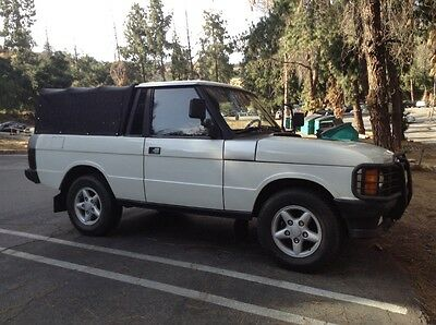 1994 Land Rover Range Rover Truck Range Rover County  classic custom pick up truck