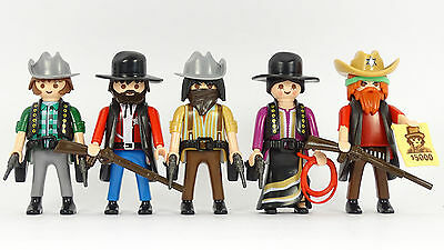 Playmobil Cowboys (5) Western Outlaws ACW Indianer Trapper Indians Robbers