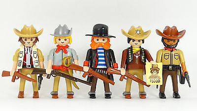 Playmobil Cowboys (2) Western Outlaws ACW Indianer Trapper Indians Robbers