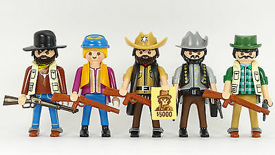 Playmobil Cowboys (3) Western Outlaws ACW Indianer Trapper Indians Robbers