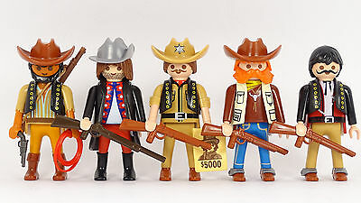Playmobil Cowboys (1) Western Outlaws ACW Indianer Trapper Indians Robbers