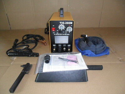TIG  WELDER 200 amp pulse arc welder   2 YEAR UK WARRANTY UK SELLER