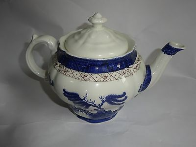 Vintage Beautiful Booths Real Old Willow Majestis Collection Tea Pot
