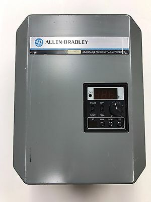 Allen Bradley 1333 - AAB Series B Adjustable Frequency AC MOTOR DRIVE 3 Phase