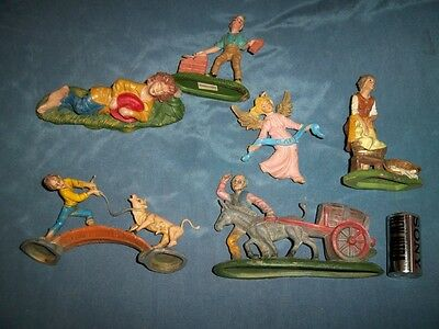 STATUINE PRESEPE VINTAGE - made in Italy