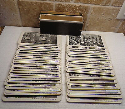 Vintage STEREOVIEW Stereoscopic Cards Complete set of 50 SEARS ROEBUCK Chicago