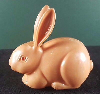 Vintage Plastic Wind Up Bunny Toy / Easter Toy