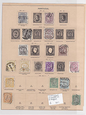 Portugal Stamps on 2 Pages Ref: R6839
