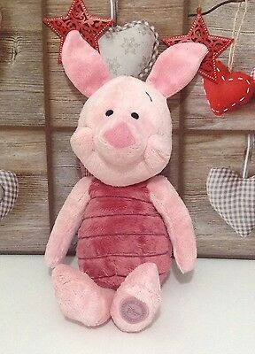 "Disney Store Winnie The Pooh PIGLET 18"" High Soft Plush Toy Comforter Ex Con"