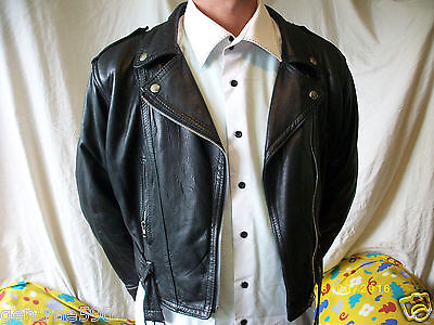 BLOUSON PERFECTO CUIR T-1/S  leather JACKET