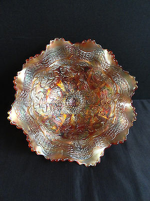 Carnival Glass Footed Bowl  - Charity Auction