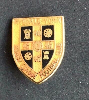 Rugby League Badge Ryedale York
