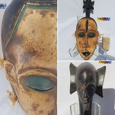 CAPTIVATING Lorube Guro Kweni Mask Figure Statue Sculpture Fine African Art