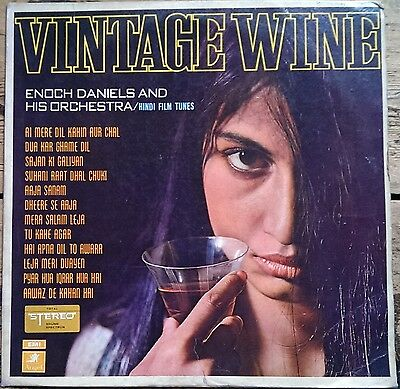 Bollywood LP Vintage Wine Enoch Daniels and His Orchestra S/3AECX 5270