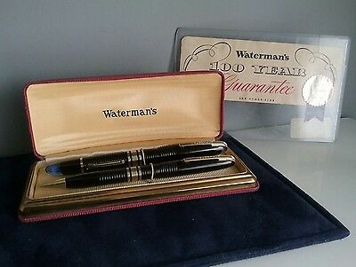 Vintage Waterman Hundred year pen 1939 - 1st generation with an Emblem nib.