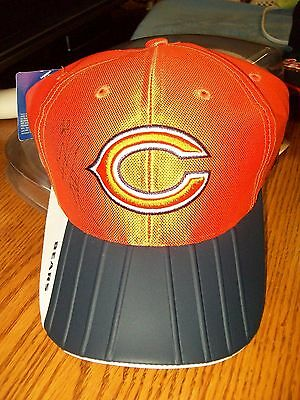 Chicago Bears Autographed Alex Brown Hat & Mini Football