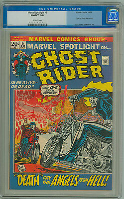 Marvel Spotlight #6 Cgc 9.8 Old Label Nm/mt 2Nd Appearance Of Ghost Rider