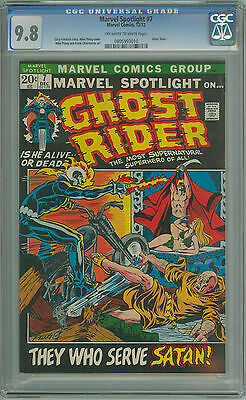MARVEL SPOTLIGHT #7 CGC 9.8 NM/MT 3RD APPEARANCE OF GHOST RIDER 1 OF ONLY 4 9.8s