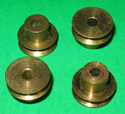 """Meccano Parts Pulleys 1/2"""" With Boss"""