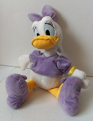 Disney Donald Duck's Friend Daisy Plush Soft Toy Figure In Purple Animal Doll