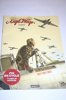 Angel Wings French Bd Sampler Comic A4 Size 24 Pages Great Artwork 12 Page Exclu