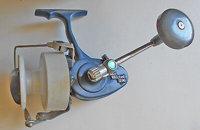 REEL,FISHING,CASTING,MITCHELL 496,made in FRANCE,FISHING REEL,SPINNING