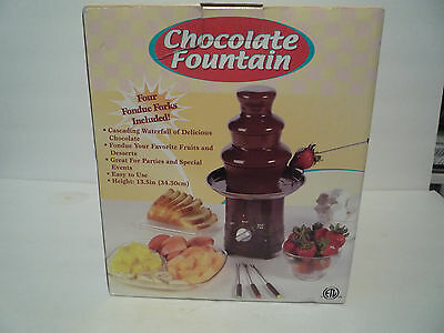 Chocolate Fountain (Rite Aid Brand) 3 Tier NEW