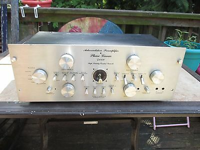 Phase Linear 4000 Stereo Preamplifier For Parts or Repair