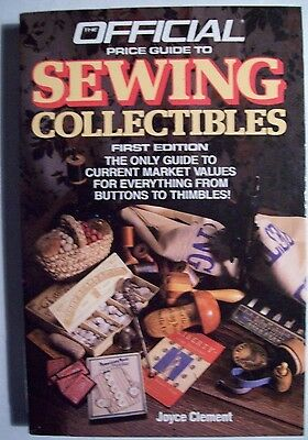 VINTAGE SEWING COLLECTIBLES PRICE GUIDE COLLECTOR'S BOOK Button to Thimbles