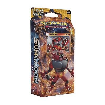 Sun and Moon Roaring Heat Theme Intro Deck- Pokemon TCG -NEW SEALED- Incineroar