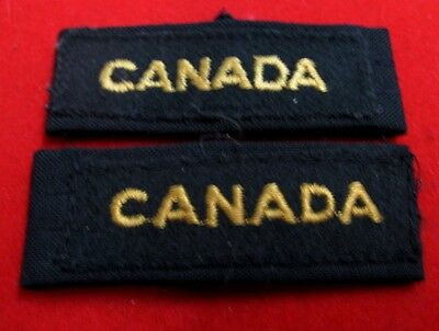 """Canada"" slip-on shoulder flash set of 2"
