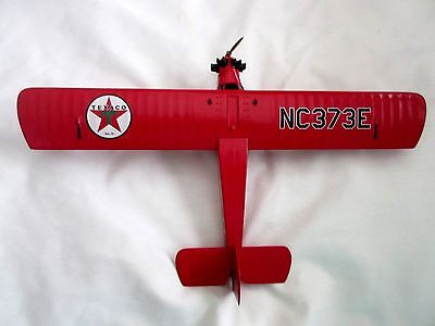 1929 Curtiss Robin Wings of Texaco Metal Airplane Bank #6 Collectible  Plane