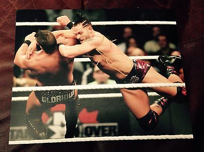 wwe tye dillinger signed autographed 8x10 photo with proof rare