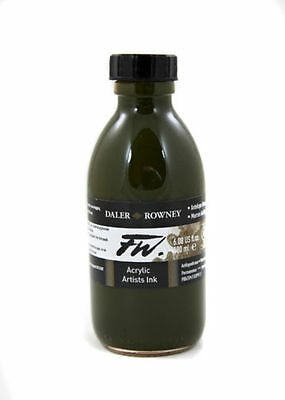 Daler Rowney 180ml FW Acrylic Ink choose your own colour