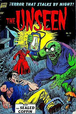 Us Golden Age Horror Comics Collection 4 On Dvd 151 Comics **buy 3 Get 1 Free**