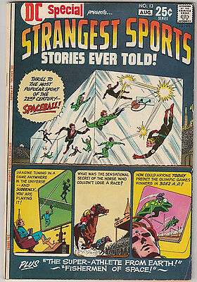 DC Special #13 Strangest Sports Stories VG/FN 1971 DC Comics Spaceball Giant
