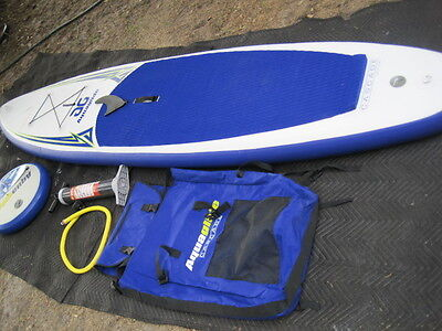 "AQUAGLIDE CASCADE 10'6"" INFLATABLE SUP Stand Up Paddleboard"